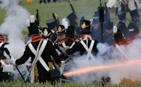Waterloo 200th re-enactment